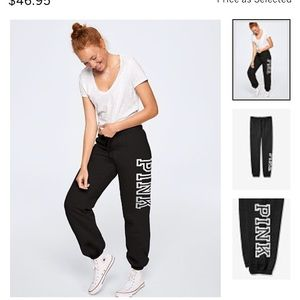 Free $20 card FIRM💖 VS PINK Campus Pant